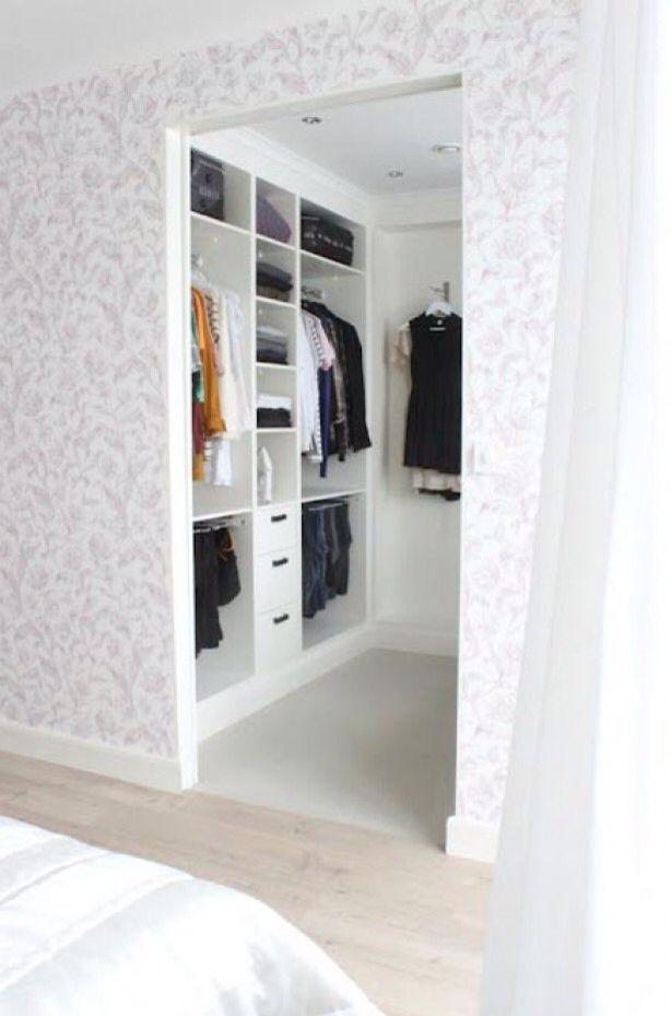 Small Bedroom Closet Design Awesome Piningibjörg On Diy Home  Pinterest  Walking Closet 2018