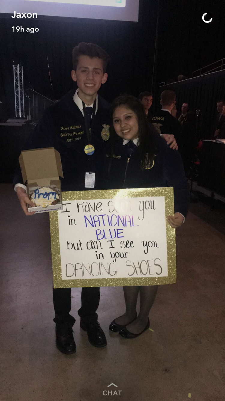 The Original FFA Promposal #FFA #Promposal | Promposal