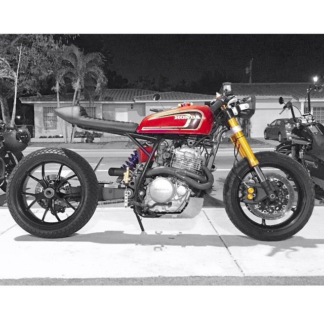 Honda XR650 Cafe Racer by Gas N' Go Moto #motorcycles #caferacer #motos   caferacerpasion.com