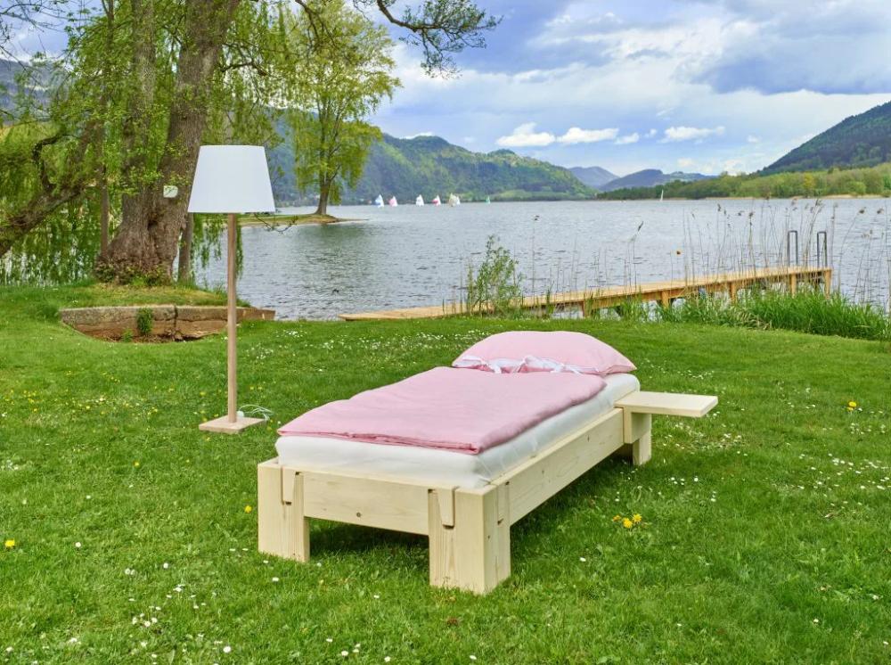 Einzelbett Und Doppelbett Einzelbett Outdoor Dekorationen Bett