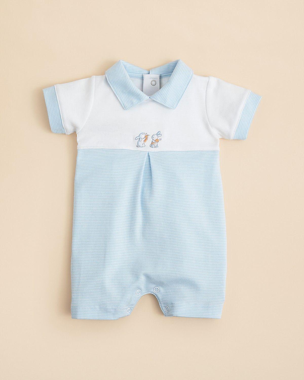 Kissy Kissy Infant Boys Cottontail Stripe Short Playsuit Sizes 0 3 6 9 Months Kids Bloomingdale S Short Playsuit Baby Boy Outfits Baby Boy
