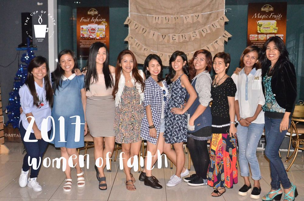Women of Faith at The Cup of Faith Coffee in the Philippines!