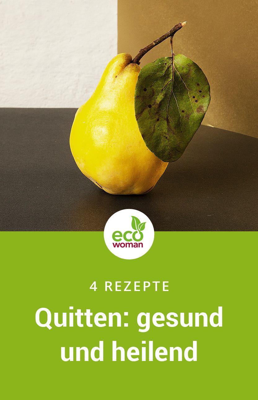 Die Quitte - Goldener Apfel mit großer Heilwirkung #obstgemüse