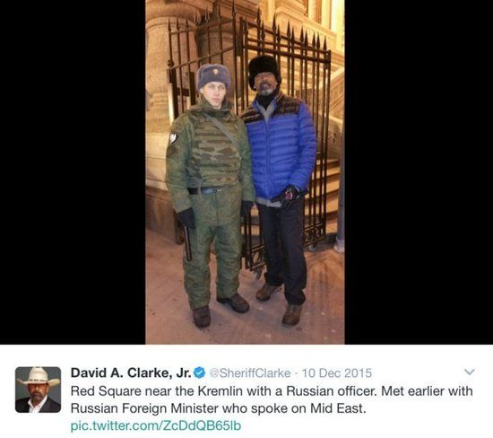 Sheriff Clarke, just nominated for DHS, was in Moscow last - adjudications officer sample resume