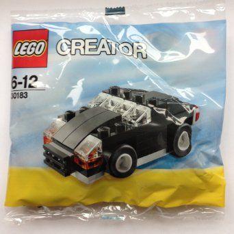 Lego Creator Black Car Set 30183 Bagged Amazon Co Uk Toys