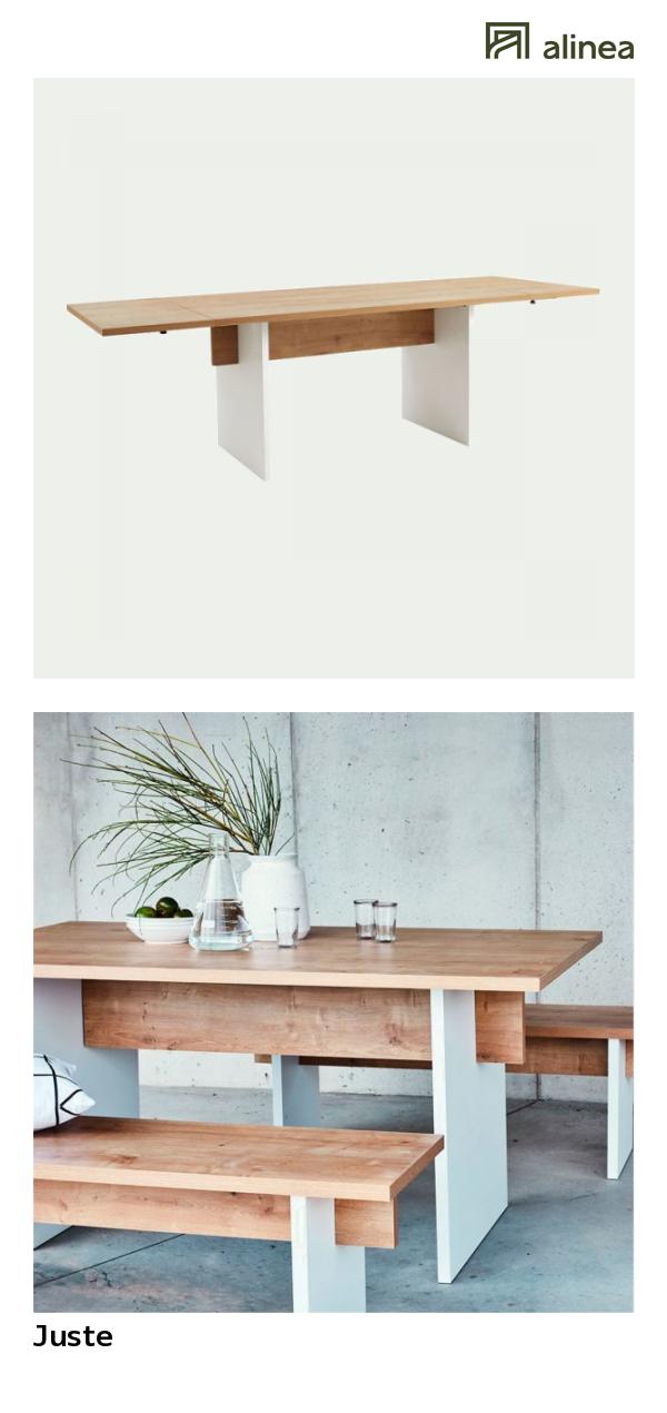 Alinea : Juste Table De Repas Extensible L160 à 250cm