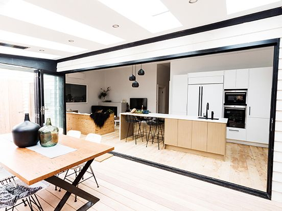 aluminium-bifold-doors-reno-rumble   Kitchen   Pinterest   Bi fold ...