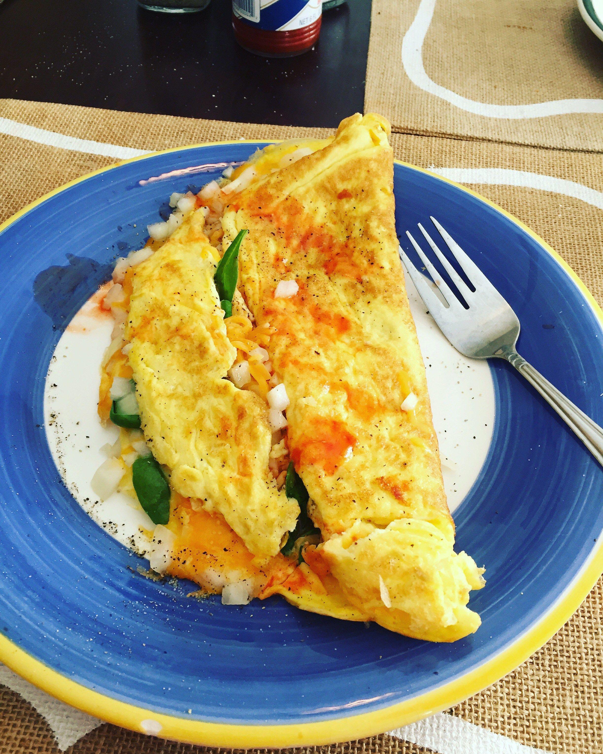 Sunday Morning Omelette ☀️