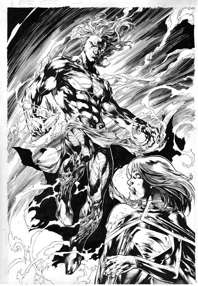 Superboy by Ed Benes