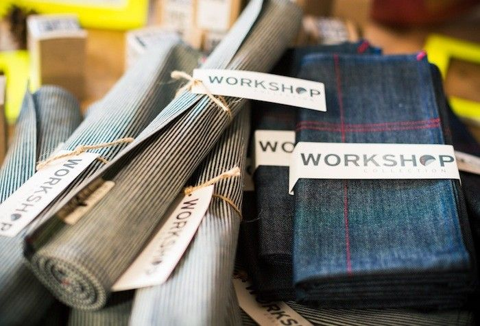 Workwear-Inspired Table Linens | Textiles | Table linens ...