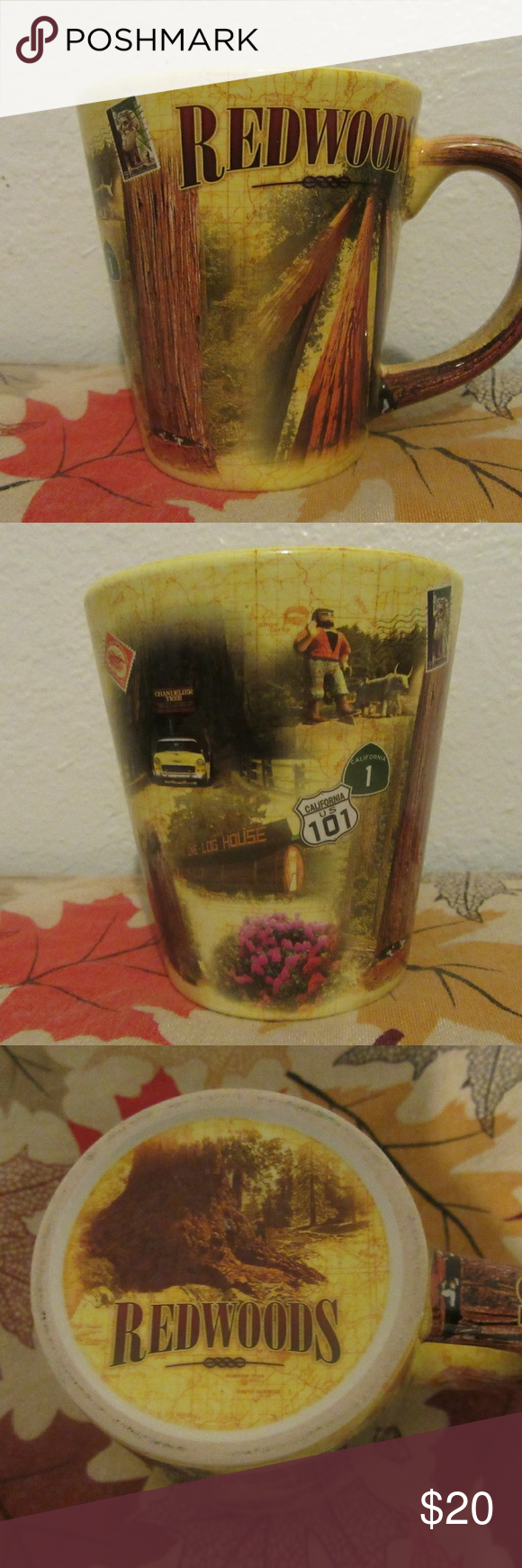 very nice graphical redwoods coffee mug great shape  very nice graphical redwoods coffee mug  ? Other