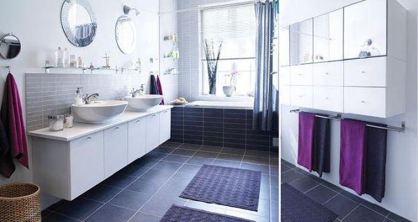 Badezimmer Fliesen Design-Ideen-Ikea Bathroom Design Pinterest