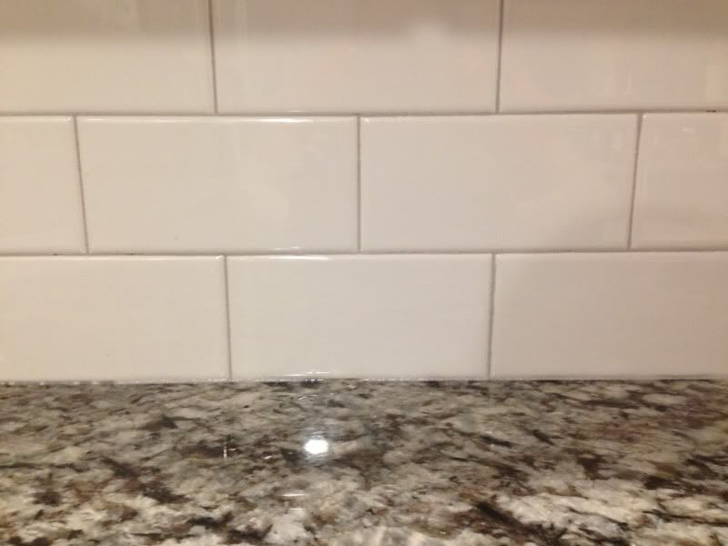 Backsplash Done Ish But With Grout Fail Psip Gbcn Epoxy Grout Grout Updating House