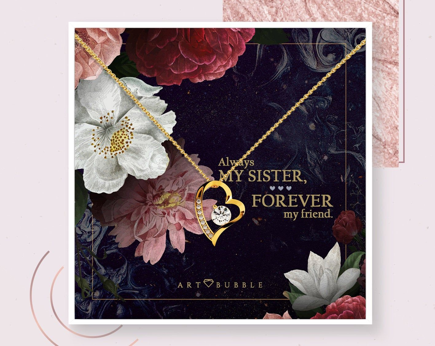Mothers day gift soul sister necklace soul sister gift