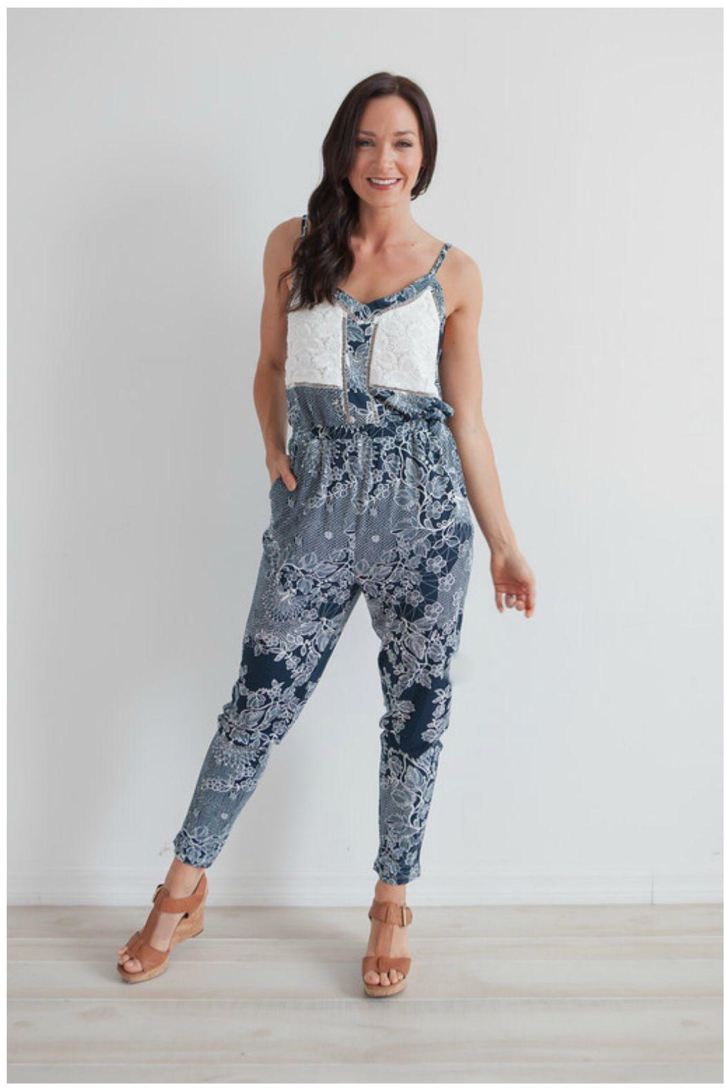 Printed Jumpsuit