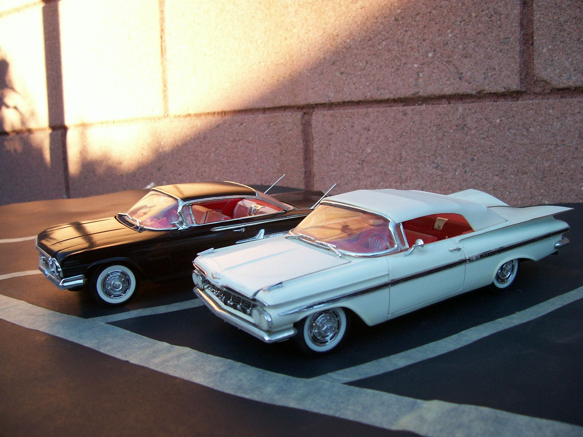 1959 1960 chevy impala 1 25 scale model cars built from revell model