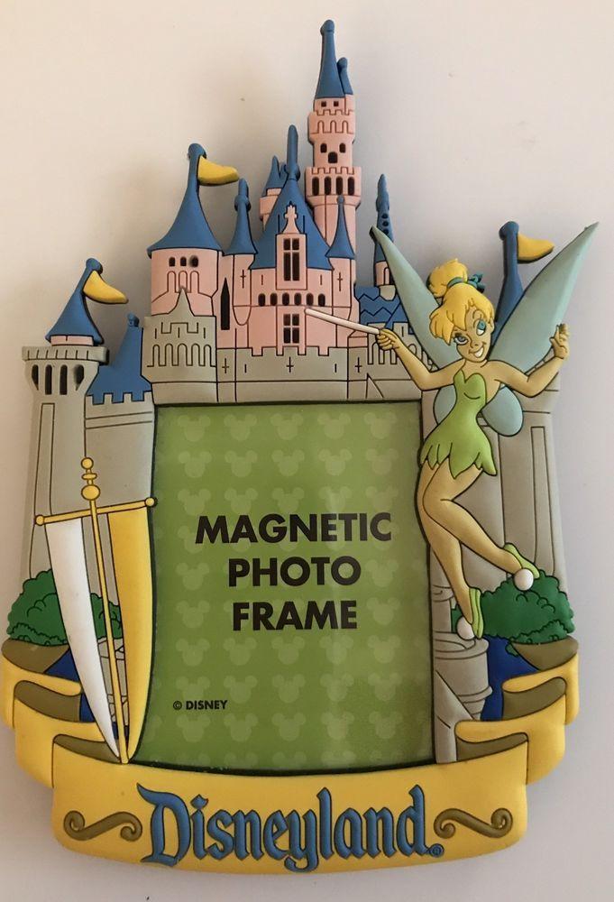 Disney Parks Disneyland Tinker Bell Sleeping Beauty Castle Magnetic ...