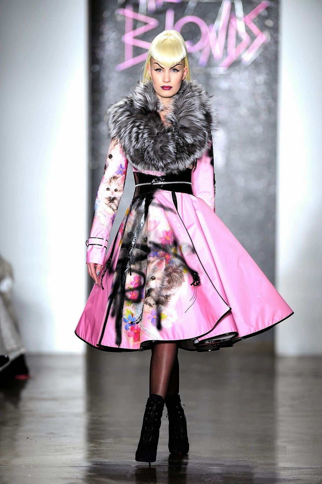 Nailed It: Vixens Rule The Runway At The Blondes Fall/Winter 2014 Show