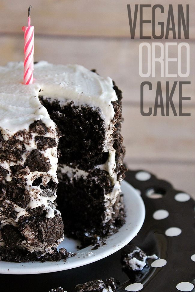 Rich And Moist Vegan Oreo Cake Recipe Kuchen Rezepte Rezepte Vegane Desserts
