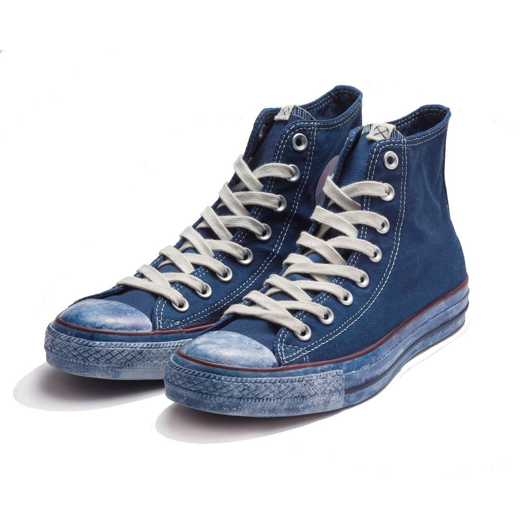 x Converse Indigo Dyed Chuck Taylor
