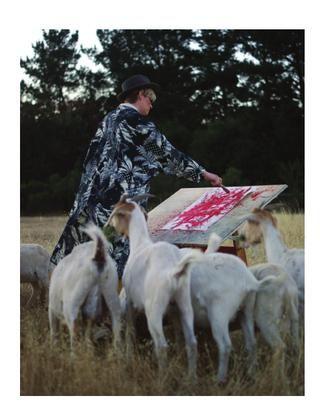 Goats That Paint?