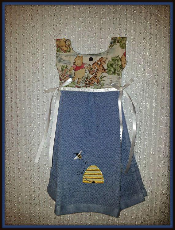 Kitchen Towel Mid Size Dress Towel Winnie The Pooh By Designbynana