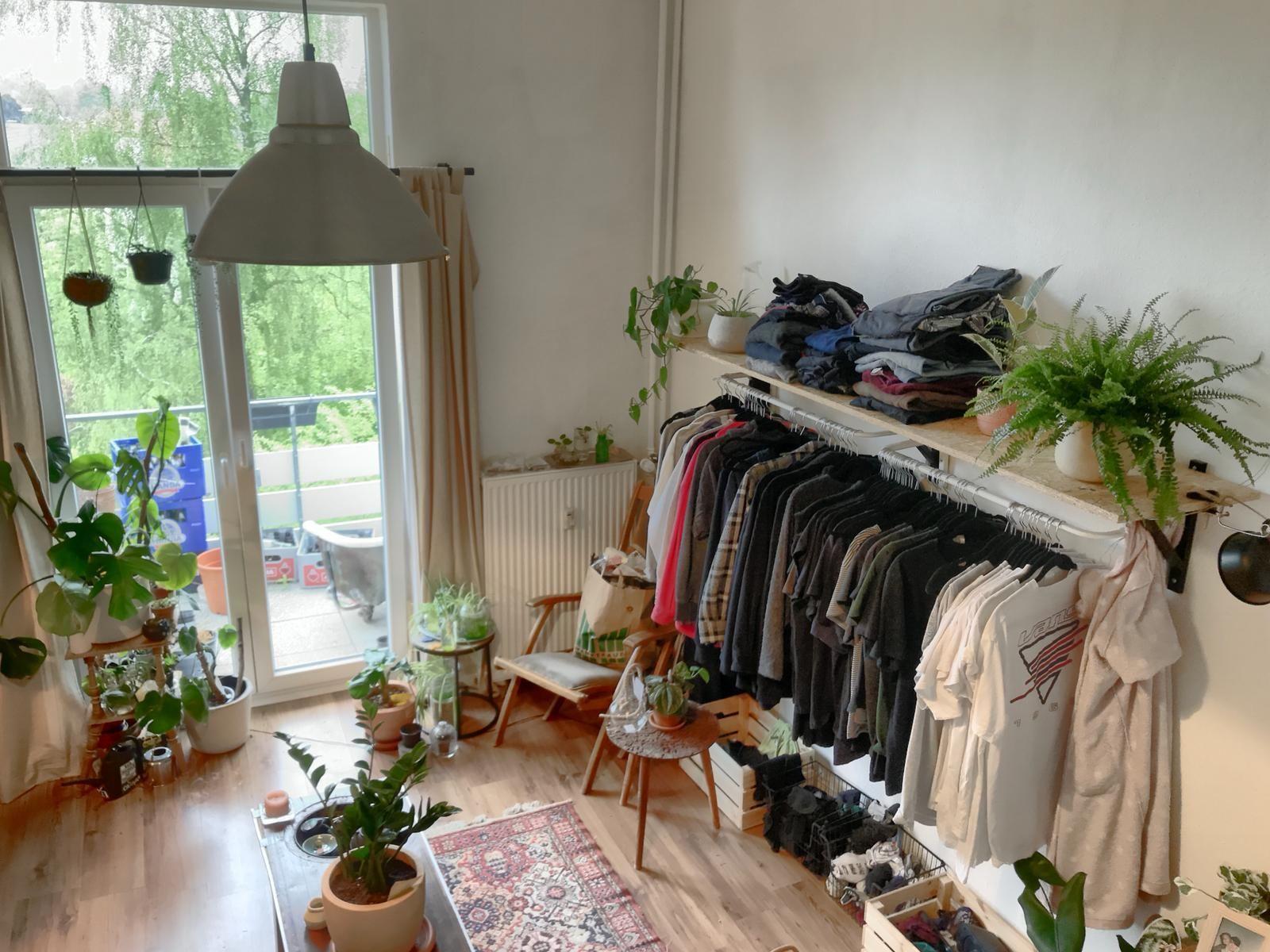 Diy Offener Kleiderschrank Der Offene Kleiderschrank Ist Einfach