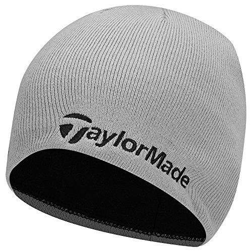 Designed for the cold this great value mens knitted 2017 golf beanie hat by  Taylormade will provide you with exceptional warmth and comfort on the golf  ... 39708e279335