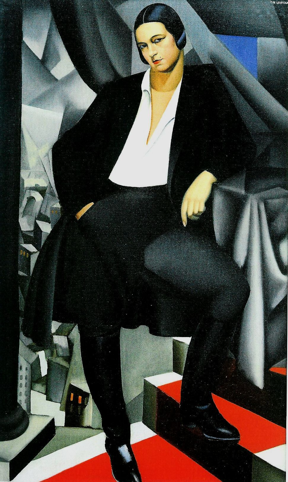 Tamara de Lempicka   Polish Art Deco artist, Russia 1898–1980 Mexico)  Duchess de la Salle, 1925