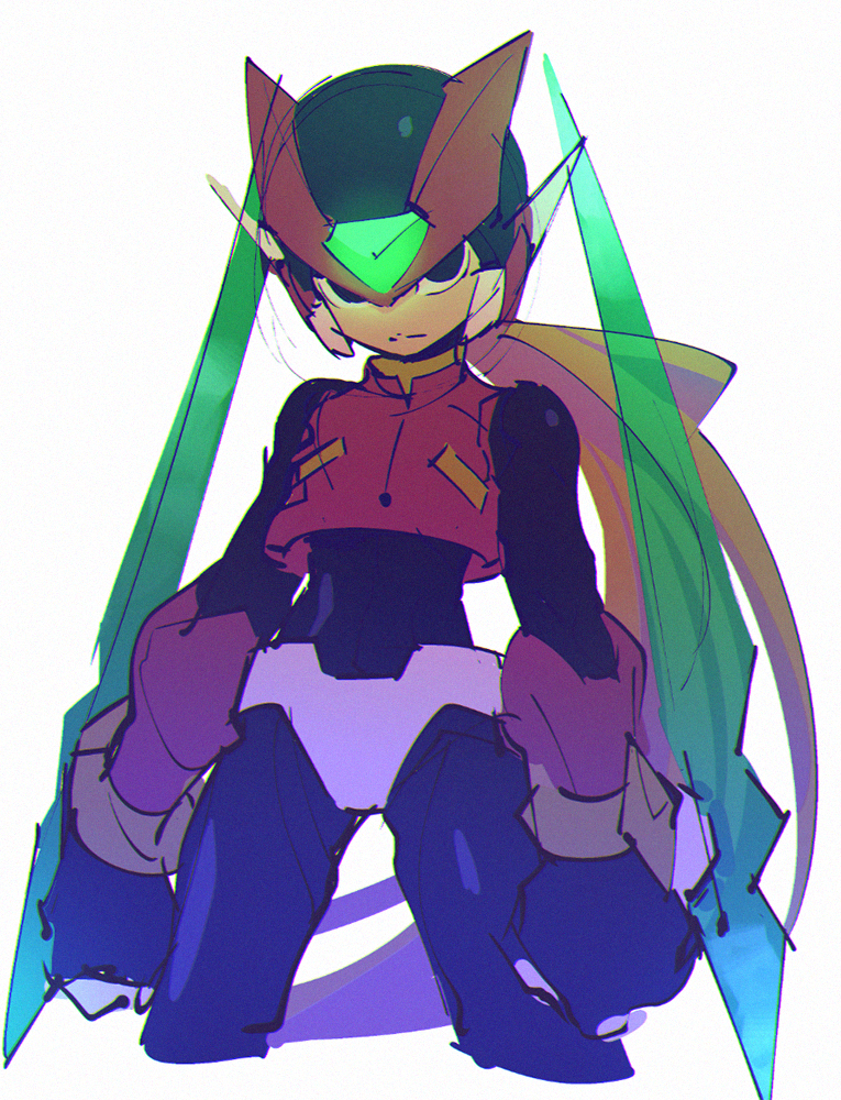 Roberto Zampari S Blue Zone Mega Man Art Mega Man Megaman Zero