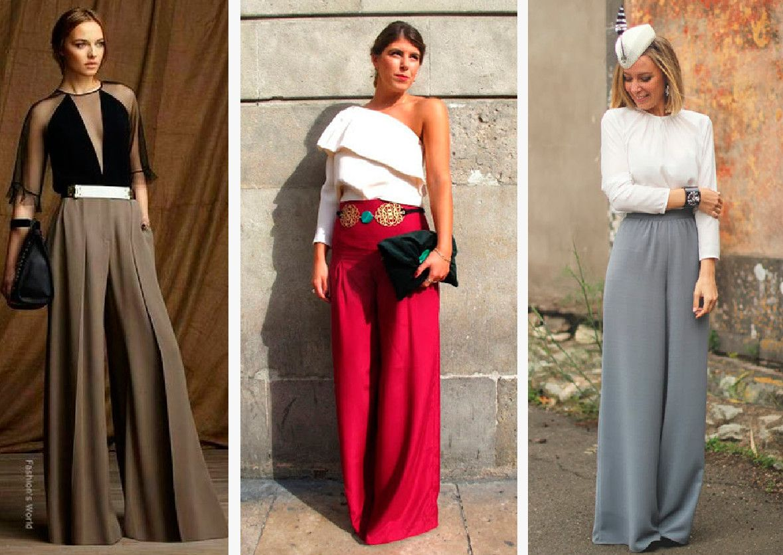 0dc17167a2aa03 pantalones-palazzo-boda-granada-look-invitadas Pantalones Para Boda, Trajes
