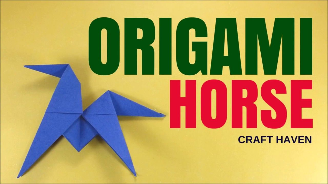 Fun and easy origami horse easy origami animal tutorial for fun and easy origami horse easy origami animal tutorial for beginners jeuxipadfo Image collections