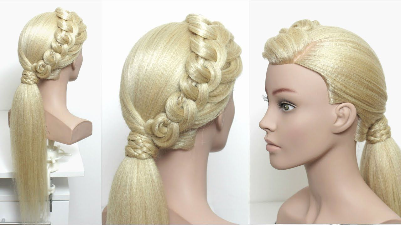 Fancy Low Ponytail. Prom Hairstyles. Hair Tutorial | Prom ...