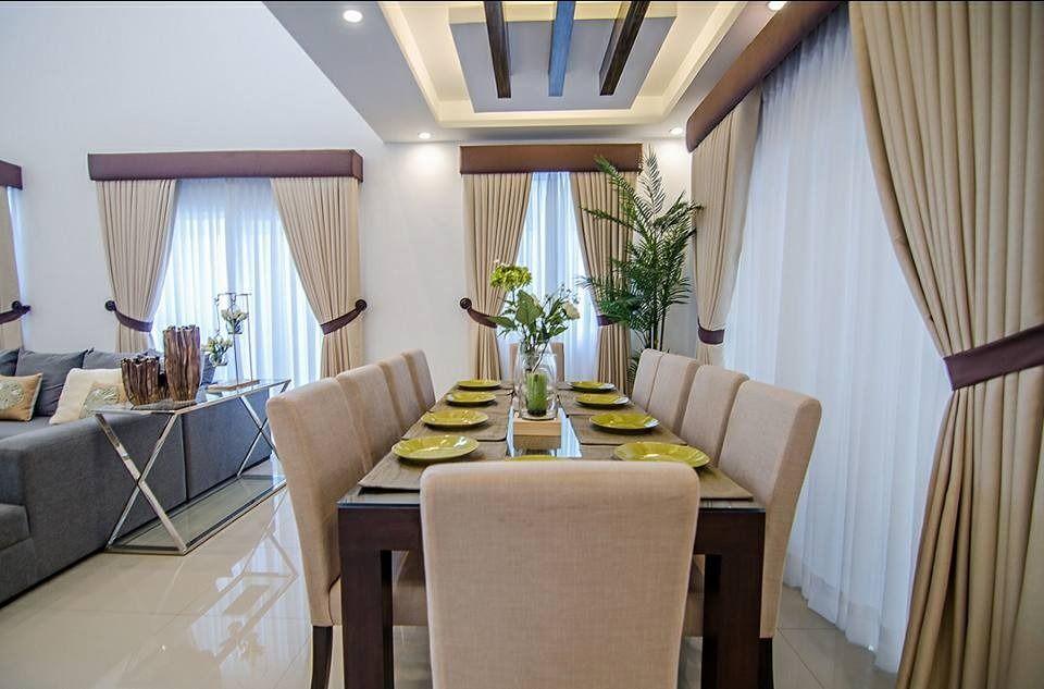 Take A Tour Through Idistudent Rhona Cruz Halili S First Project In The Philippines Interior Design Institute Dining Room Design Interior Design