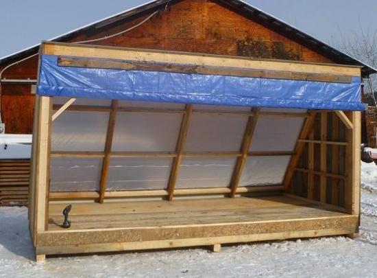 Solar Wood Dryer Pleted Lead