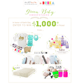 Green Baby Prize Pack Giveaway Open to: United States, Canada  Ending on: 04/30/2015