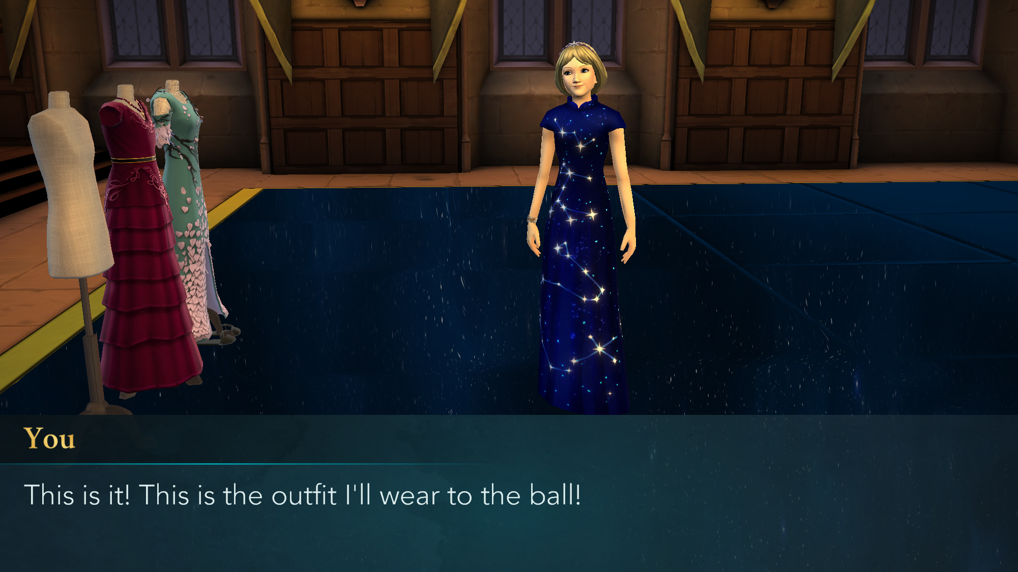 Pin By Ada On Harry Potter Hogwarts Mystery Game Formal Dresses Long Prom Dresses Formal Dresses