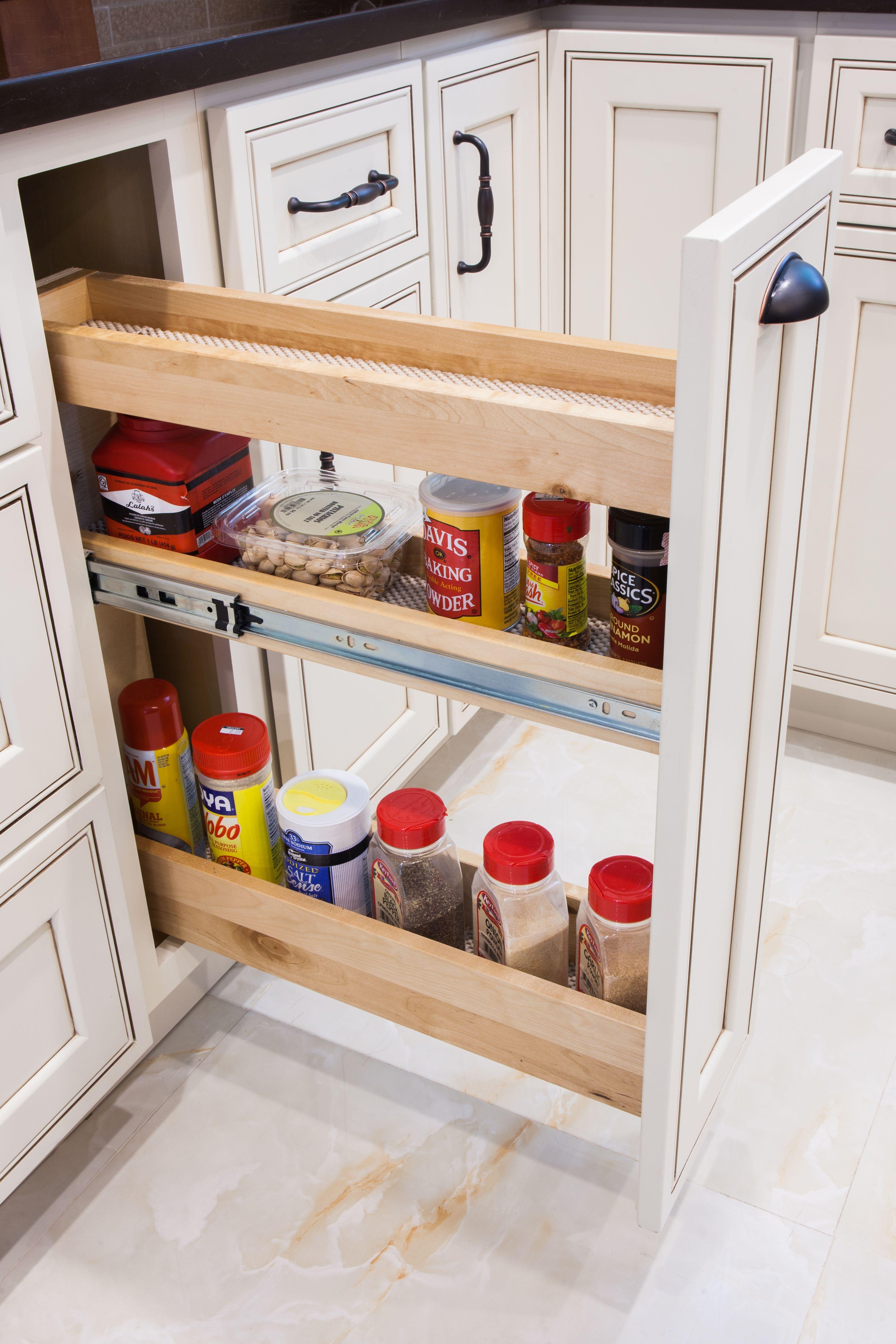 Home Cabinet Westbury H9 Style Kitchen Add On Spice Rack Kitchen Remodel Kitchen Bathroom Remodel Spice Rack