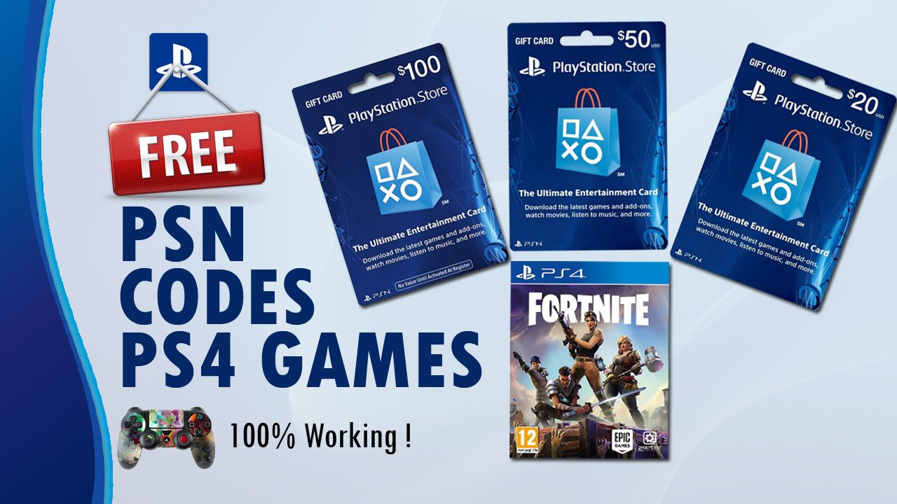 How To Get Free PSN Codes And PS4 Games 2018 Hey, what's up