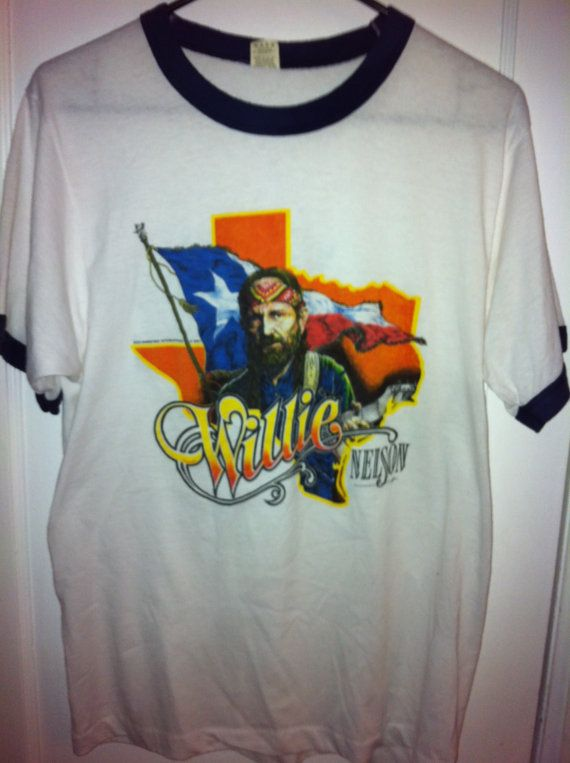 Willie Nelson 1984 Vintage TShirt by BCallyVintage on Etsy, $65.00