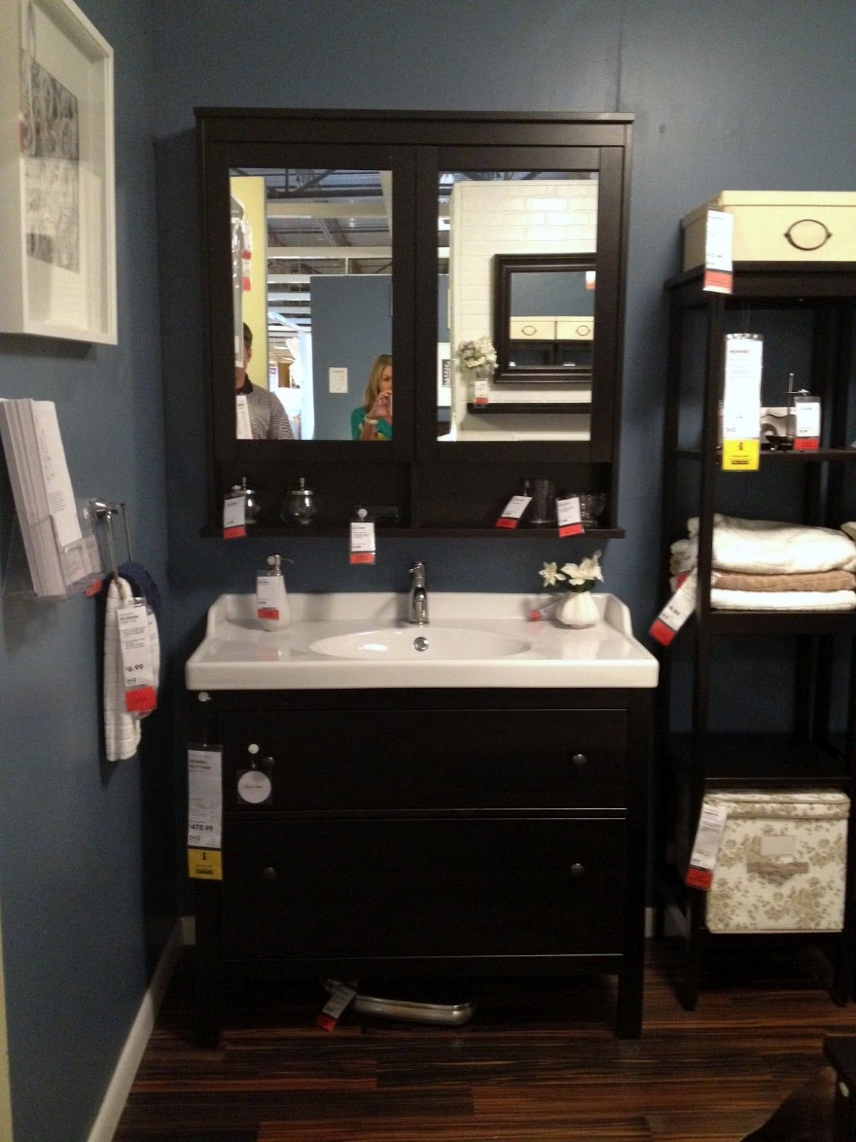 corner bathroom cabinet floor standing | Stribal.com | Design ...