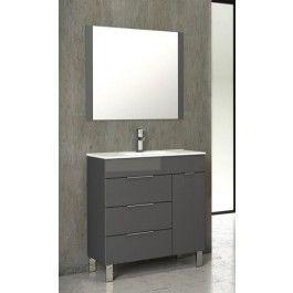 Eviva Evvn530 28 Geminis 28 Inch Modern Bathroom Vanity With White Integrated Porcelain Sink Modern Bathroom Vanity Modern Bathroom Modern Vanity
