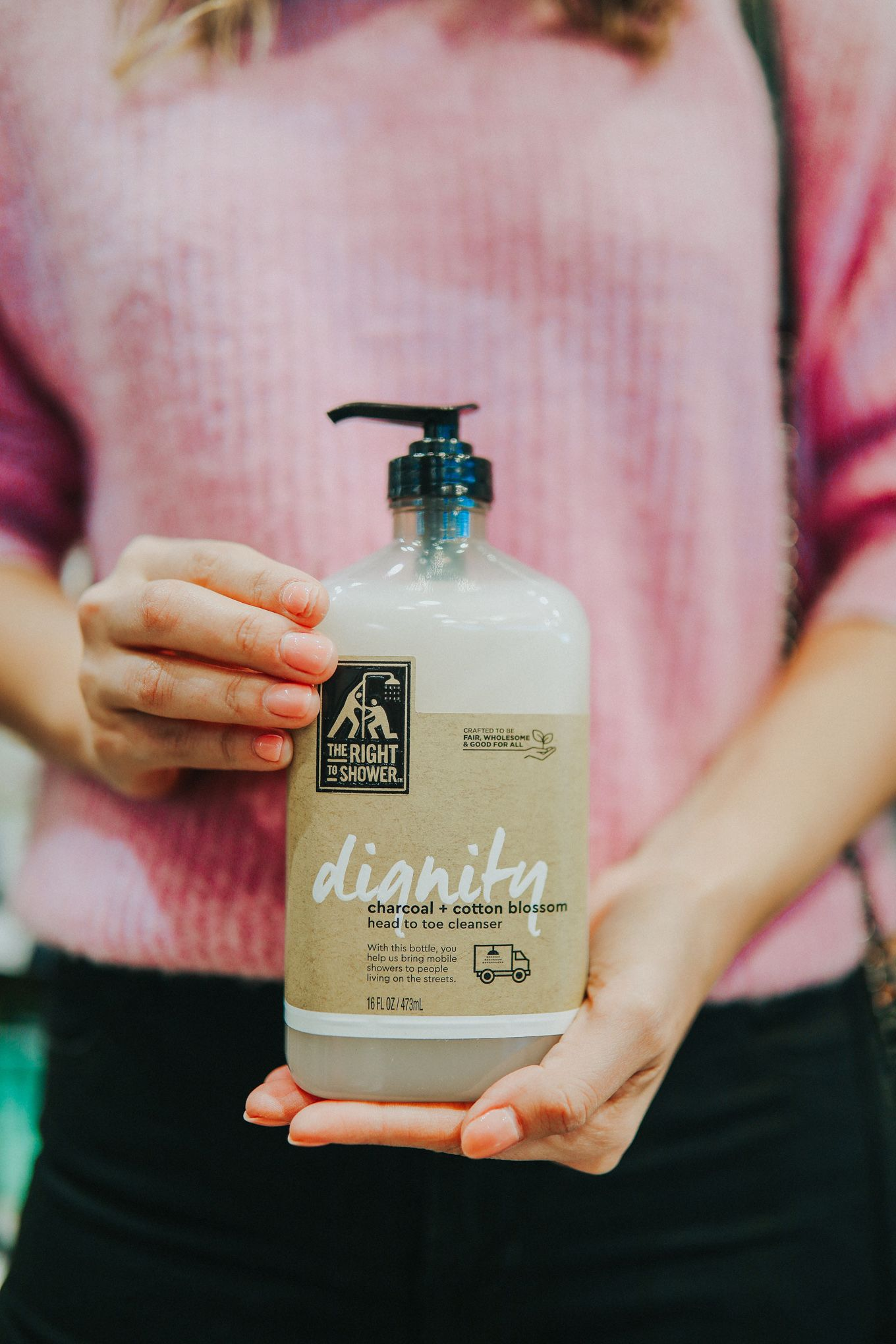 Buy This Body Wash Help Provide Free Showers For The Homeless Body Wash Paraben Free Products Body