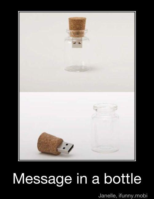 Message In A Bottle....