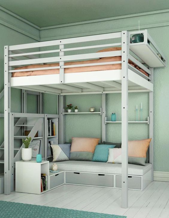 Entdecken Sie Raumdekor-Ideen für Mädchen nach beliebten Themen oder edlen Farbmustern ... #teenagegirlbedrooms
