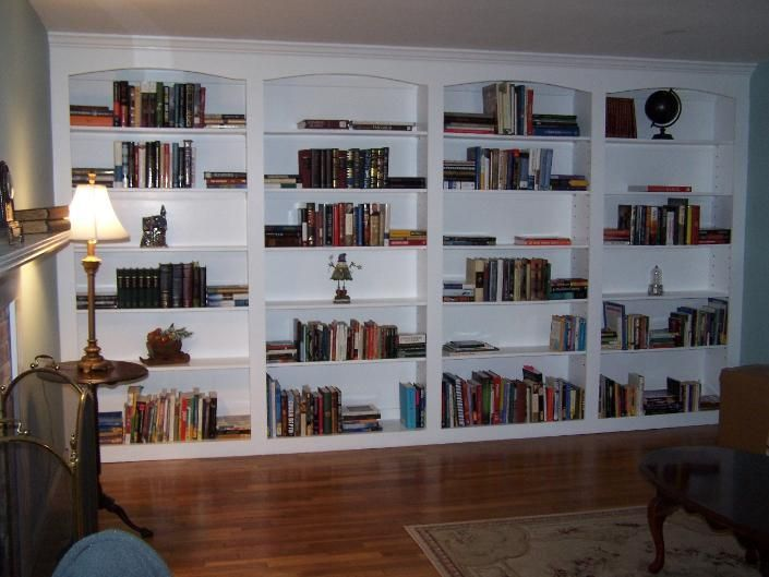 retail built in bookshelves | Built-in Bookcase by Homestead Hardwood  Furniture