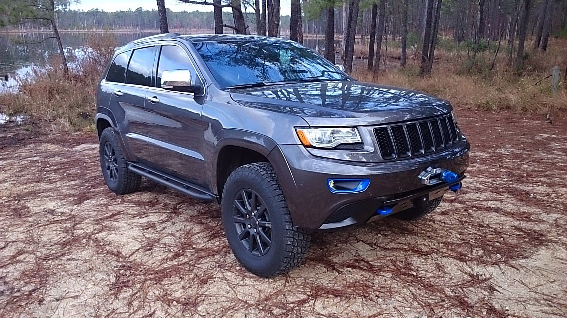 Wk2 Grand Cherokee W Custom Blue Trim Jeep Grand Cherokee Jeep