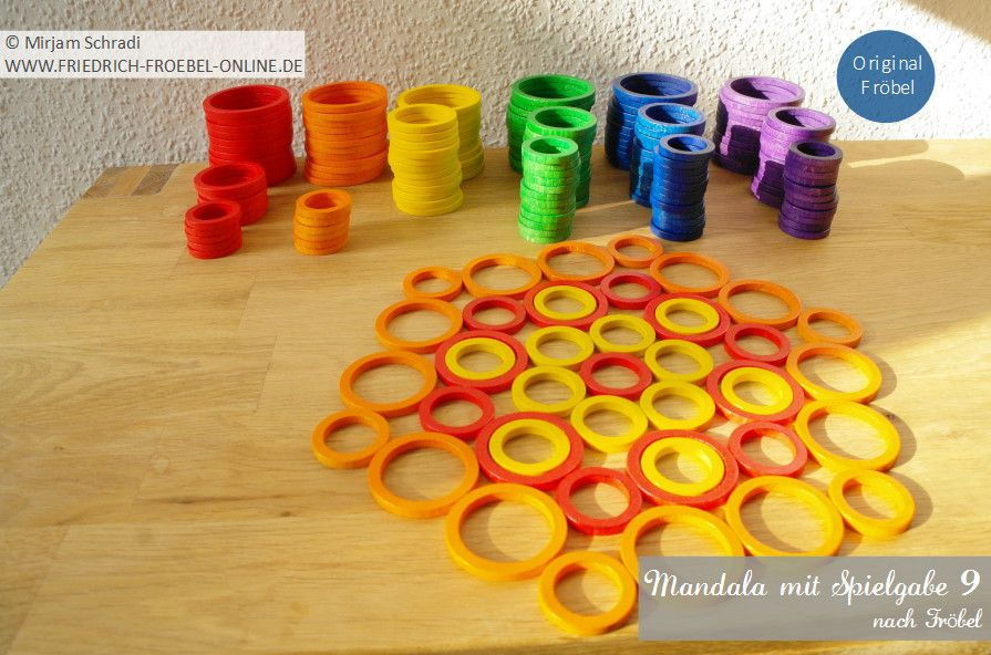 Mandala legen mit Kindern - hier gibt es die passende Vorlage mit ...