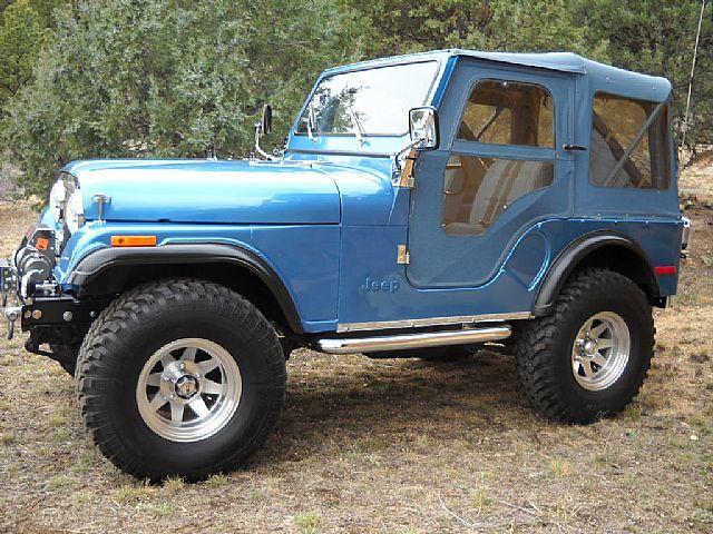 Blue Jeep Cj5 Jeep Cj Jeep Vintage Jeep