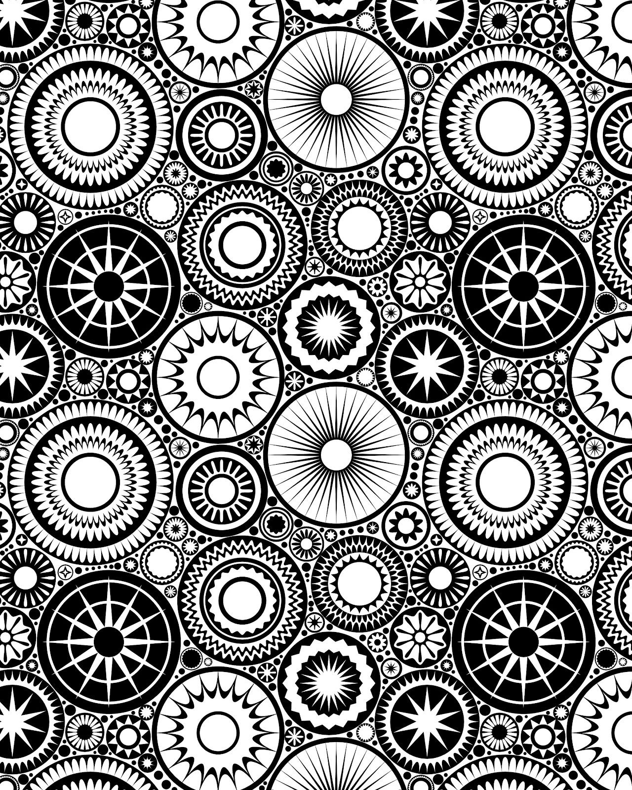 Hard mandala coloring pages for adults - Coloring For Stress Relief Free Download Streaming Coloring Pages For Adultsdo Eatmandala